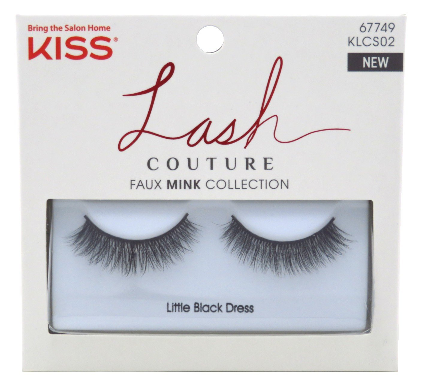 Kiss Lash Couture Faux Mink Collection - Little Black Dress Eyelashes