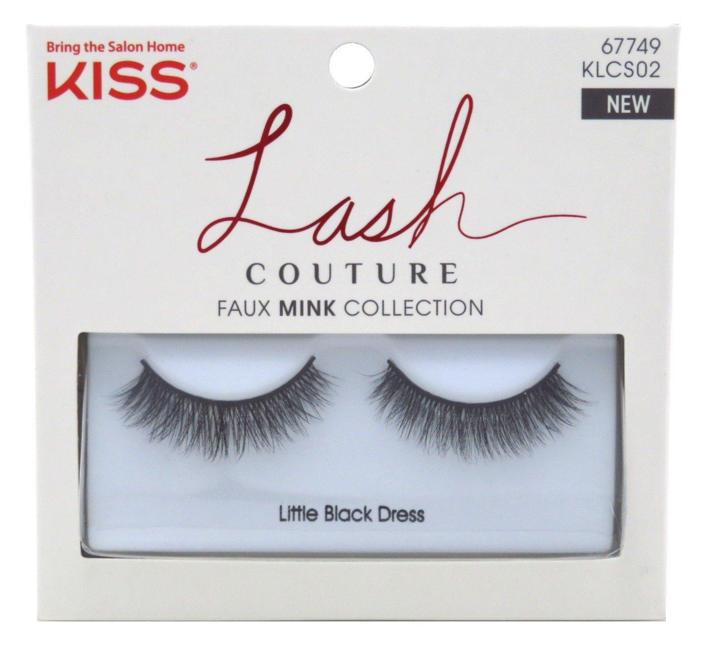 Kiss Lash Couture Faux Mink Collection - Little Black Dress Eyelashes