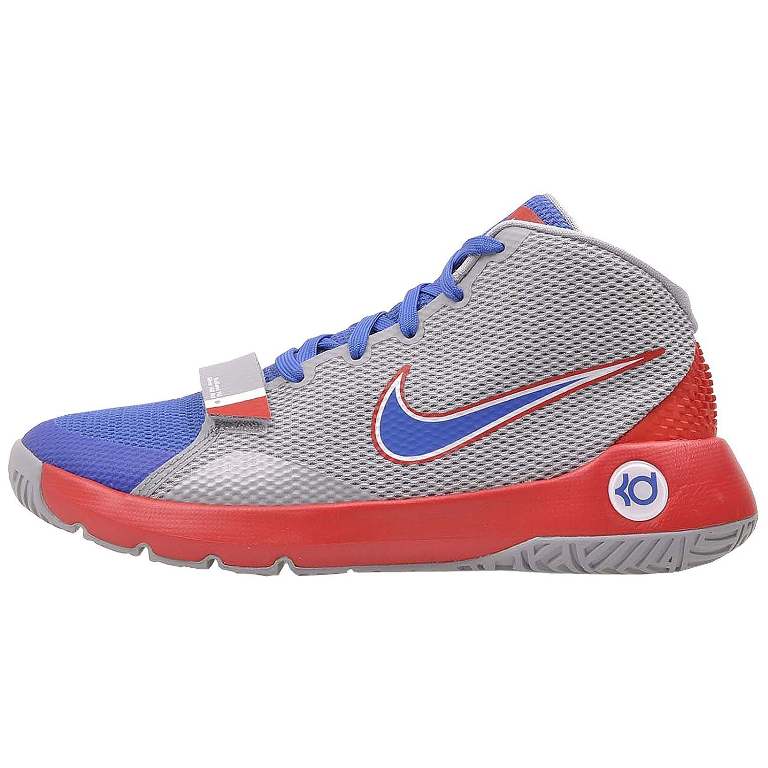 sale retailer e54c0 b1297 Amazon.com   Nike Kids KD Trey 5 III Basketball Shoes (7 Big Kid M, Wolf  Grey University Red Game Royal)   Basketball