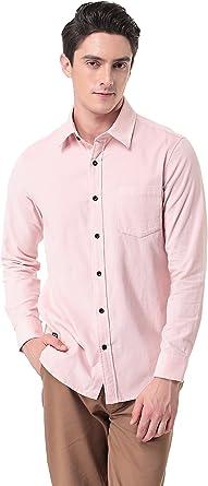 Pau1Hami1ton Camisa de Pana de Manga Larga Slim-Fit para Hombre P-10: Amazon.es: Ropa y accesorios