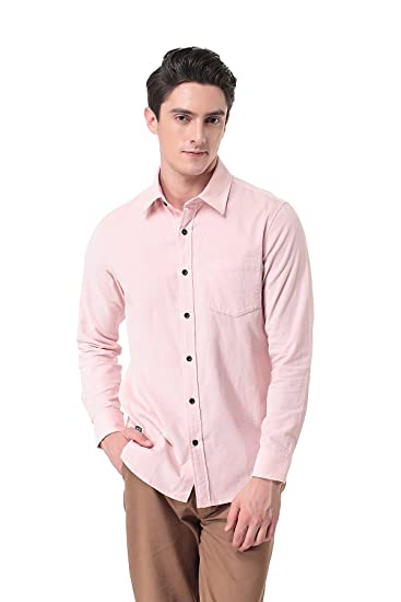 0502a9ab Image Unavailable. Image not available for. Color: Pau1Hami1ton Men's Corduroy  Long Sleeve Button Down Casual Dress Shirt ...