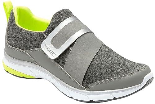 Zapatillas Slip-On para mujer Flex Darcy Gris Talla 6: Amazon.es: Zapatos y complementos