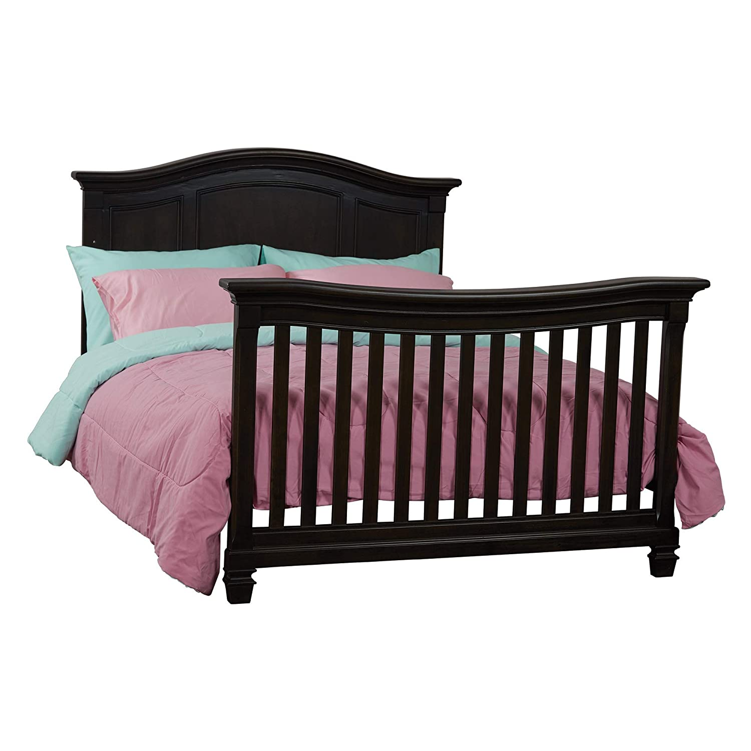 Baby Cache Glendale Full Bed Conversion Kit Charcoal Brown
