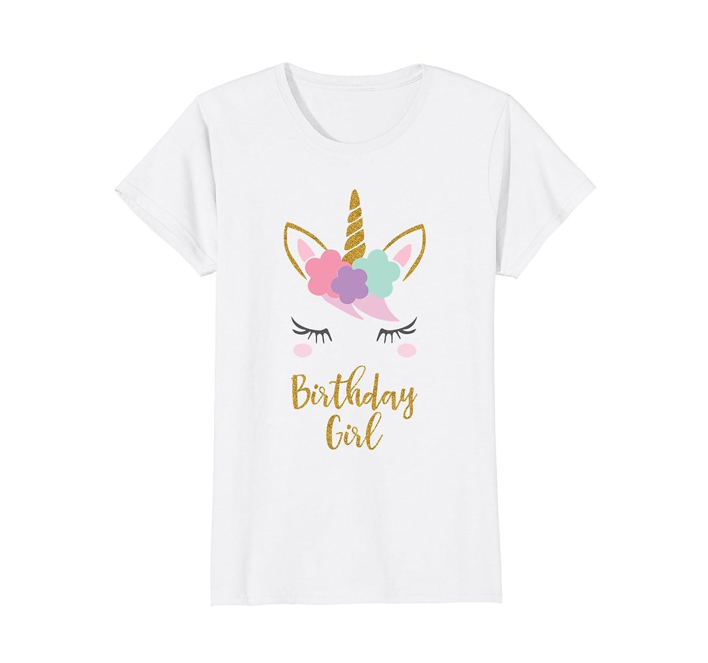 Unicorn Birthday T-Shirt, Unicorn Gift, Birthday Outfit-ln