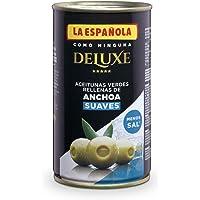 DELUXE SUAVES de LA ESPAÑOLA (150g). Aceitunas verdes