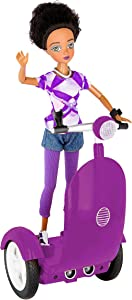 Smart Buddies Zara Coding Character on a Robotic Scooter - STEM Toys for Kids - Manage Screen time and Kids Learn to Code While at Home