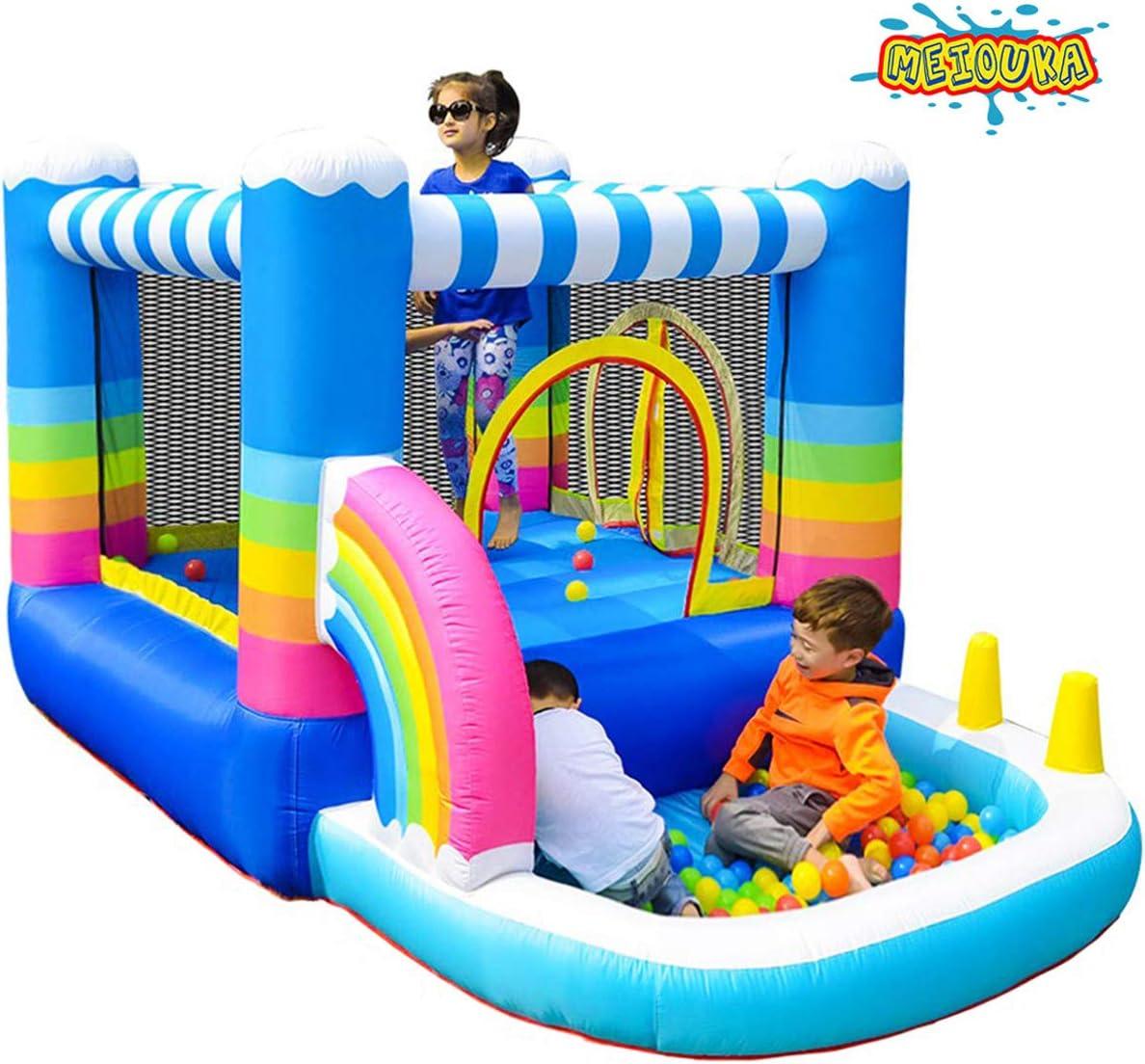Amazon.com: MEIOUKA - Jumper inflable para niños con 350 W ...