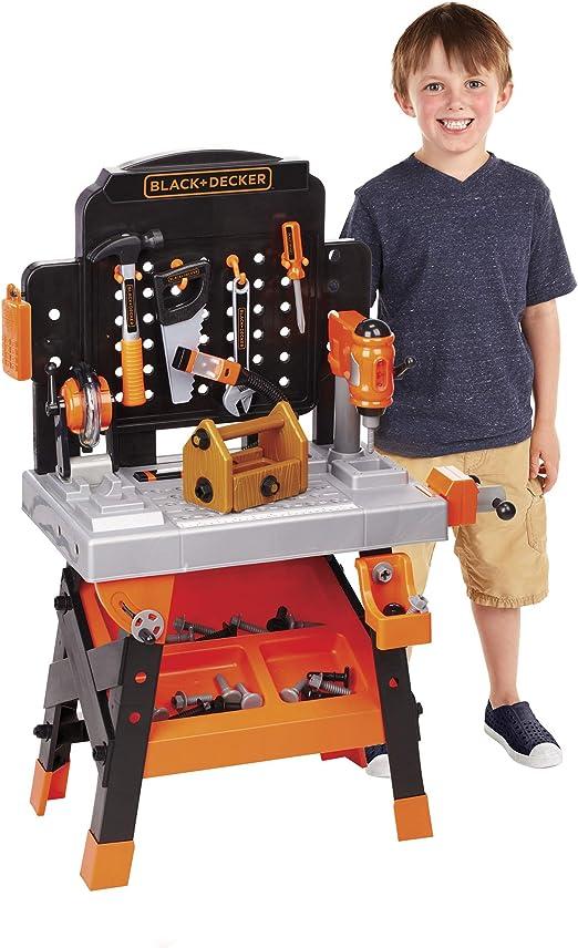 73PCS Deluxe Enfants Travail À faire soi-même Tool Bench semblant Jouer Toy Set Atelier Portable Kit