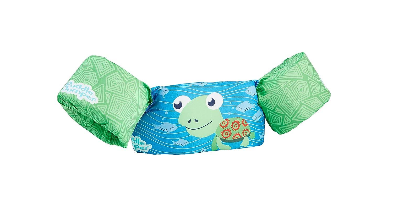 Sevylor Puddle Jumper, Manguitos bebé para Aprender a Nadar, para niños de 2 a 5 años, Verde, De 15 a 30 kg de Peso