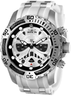 Invicta Mens 26183 Star Wars Quartz Multifunction Silver Dial Watch
