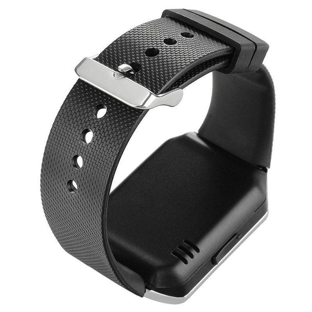 Deyoun® - Reloj inteligente con Bluetooth inteligente, vigilancia con cámara, Sync SIM/TF Card Slot para smartphone Android Samsung, HTC, Sony, ...