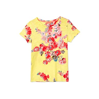 11d11f2ee228bf Image Unavailable. Image not available for. Color: Joules Nessa Print  Lightweight Jersey T-Shirt ...