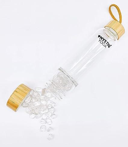 MYSTIQ YOGA Botella (Cristal DE Roca): Amazon.es: Deportes y aire libre