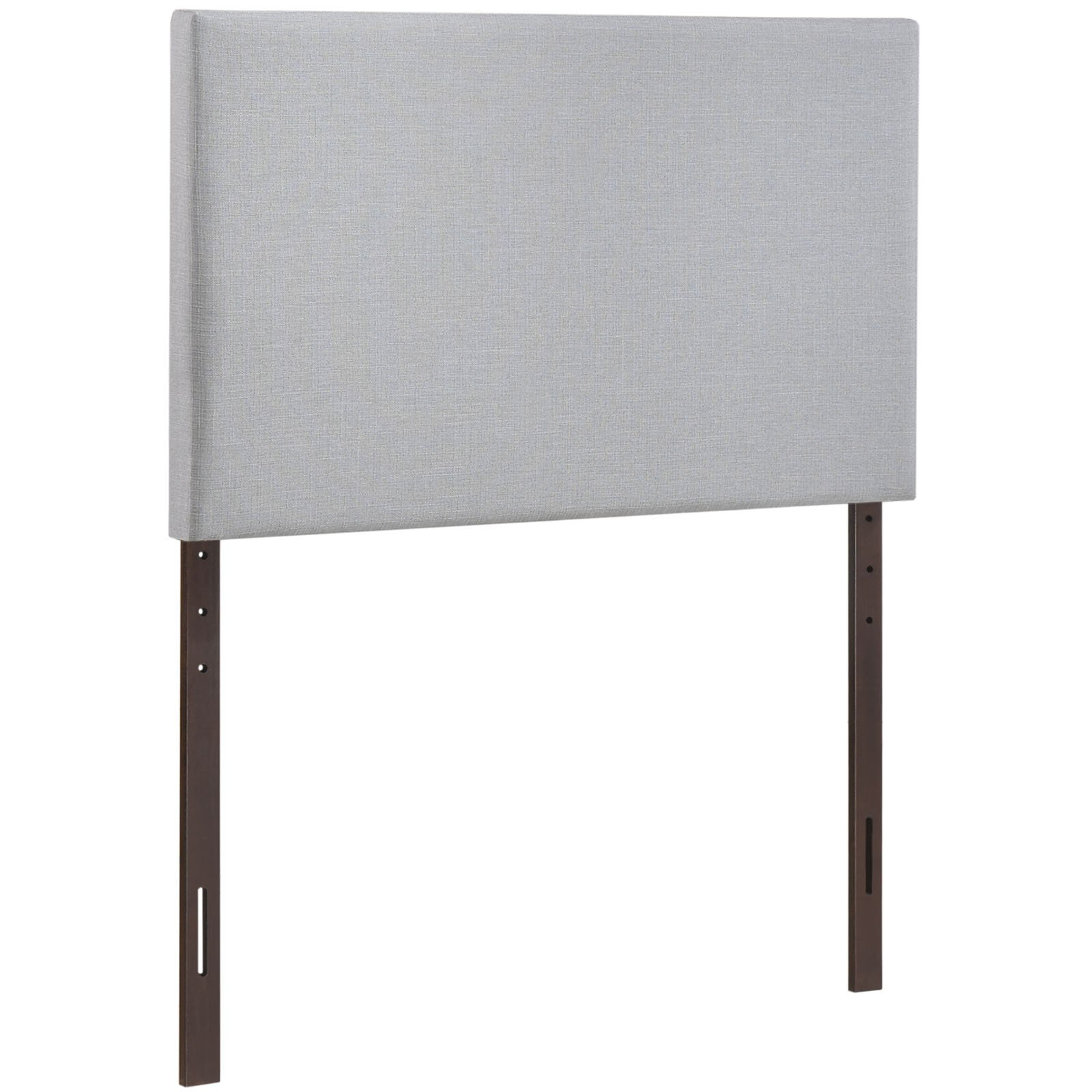 Modway Region Twin Upholstered Linen Headboard in Gray by Modway (Image #3)