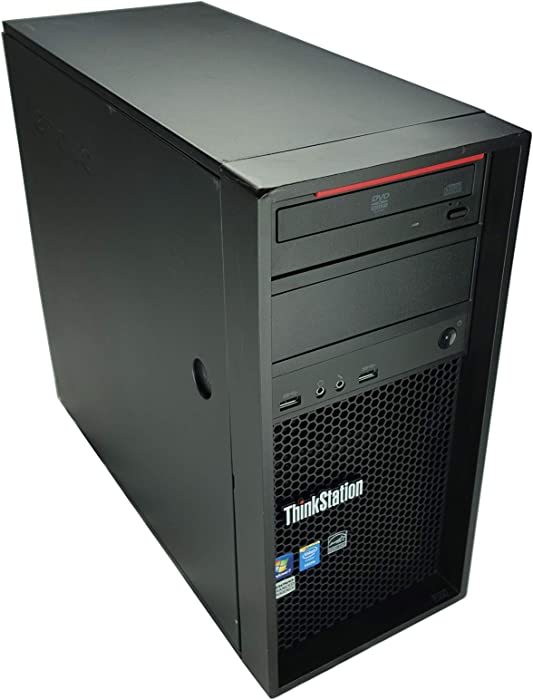 Lenovo ThinkStation P300 , Xeon E3-1231v3 3.4GHz QC 16GB 1TB HDD K2200 W10Pro (Renewed)