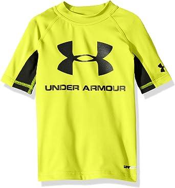 Pick SZ//Color. Under Armour Childrens Apparel Little Boys Upf Short Sleeve Tee