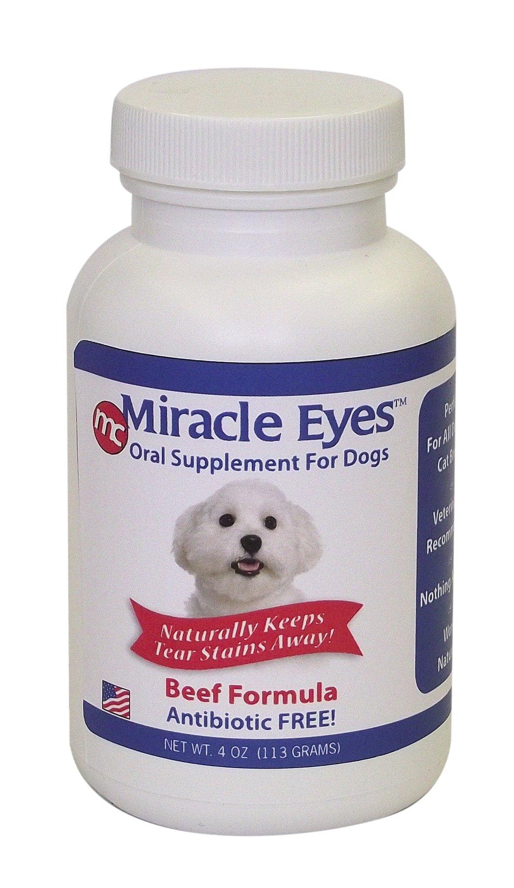 GIMBORN 731024 Miracle Eyes Beef Formula for Pets 4 oz