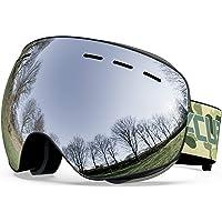 ACURE SG01 skidglasögon – OTG ramlösa snöskyddsglasögon, dubbel lins med anti-dimma och UV400-skydd för män, kvinnor och…