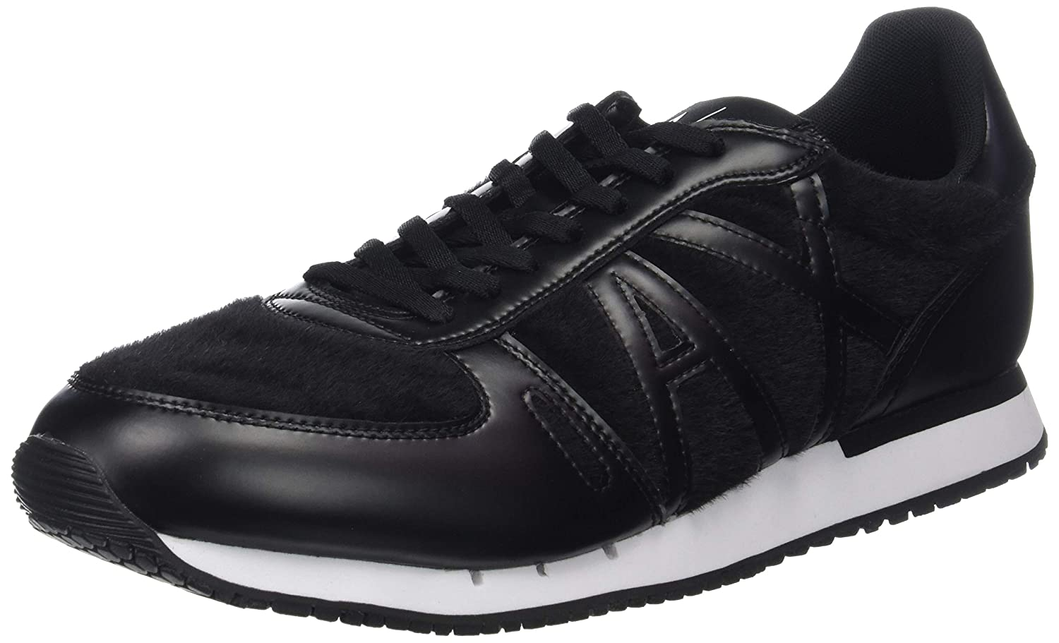 TALLA 42 EU. Armani Exchange Low-Top Sneaker, Zapatillas para Hombre