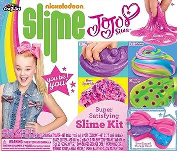 9906b48691a Nickleodeon CRA-Z JoJo Siwa Slime Kit, Multicolor, 6 x 6: Amazon.ca ...