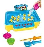 Brigamo Enten angeln Wasserspielzeug, Angelspiel, Kinderspiel für 2 Spieler