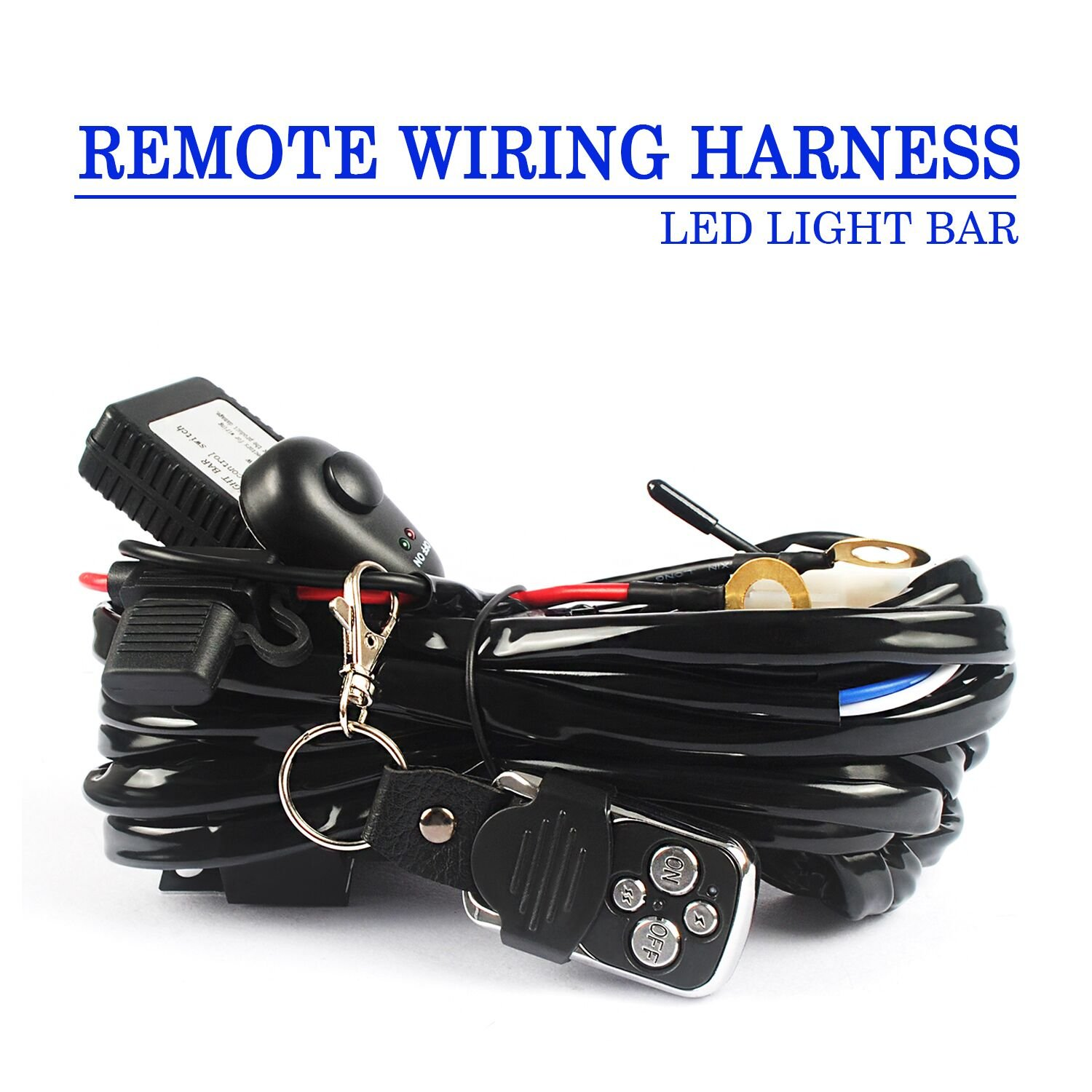 Motorcycle Light Bar Wiring Harness Bcca Accessories