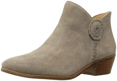 Jack Rogers Women's Peyton Ankle Bootie, Light Grey, ...