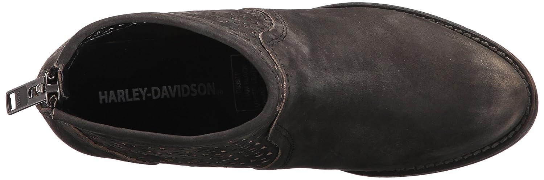 Harley-Davidson Women's Liam 4.25-inch Black Lifestyle Motorcycle Boots D83971 B01NCAERJK 10 B(M) US|Smoke