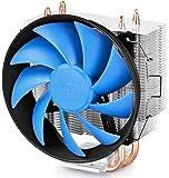 DeepCool Gammaxx 300 Ventola per CPU con 3 Coppie di Tubi di Calore, Dissipatore per CPU con 120mm PWM Ventola Silenziosa(AM4 Compatibile, Pasta Termico Incluso)