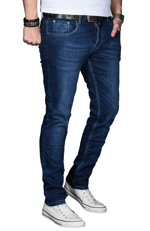 A. Salvarini Designer Herren Jeans Hose Hose Hose Basic Stretch Jeanshose Regular Slim B06WRWX4PW Jeanshosen Verbraucher zuerst 7a4c45