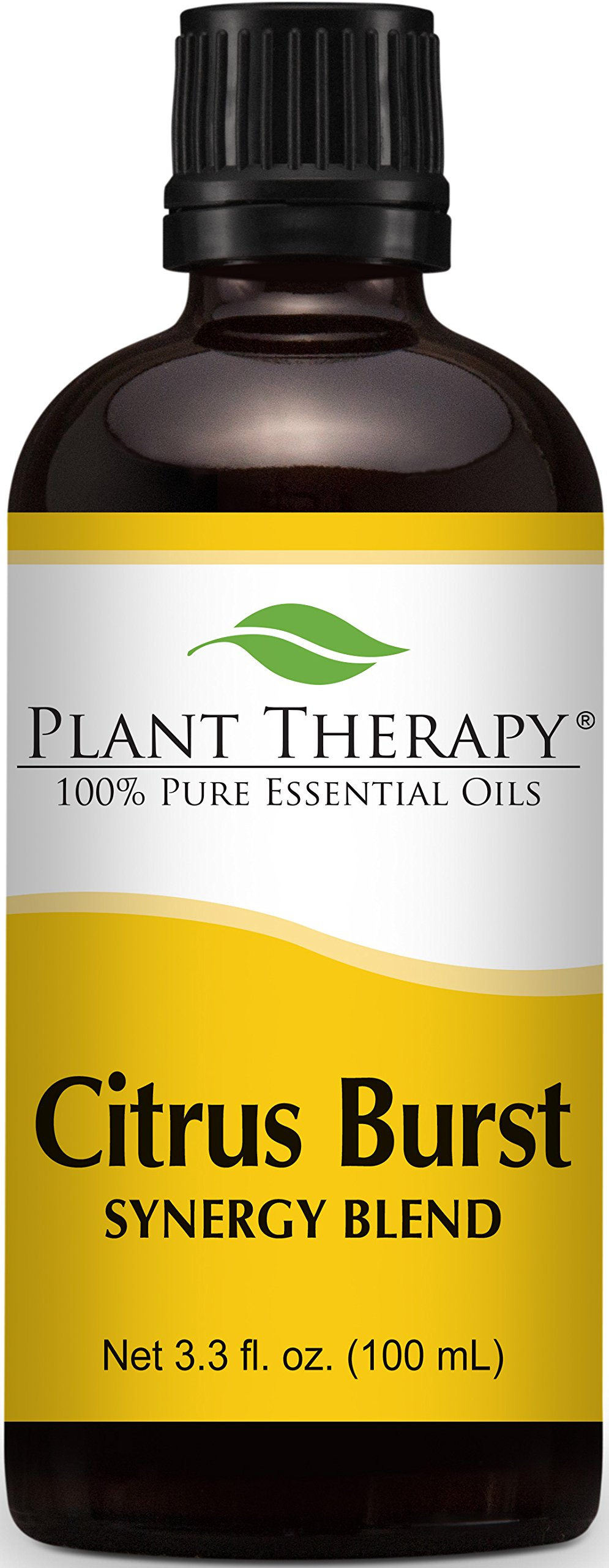 Plant Therapy Citrus Burst Synergy Essential Oil Blend 100 mL (3.3 oz) 100% Pure, Undiluted, Therapeutic Grade by Plant Therapy