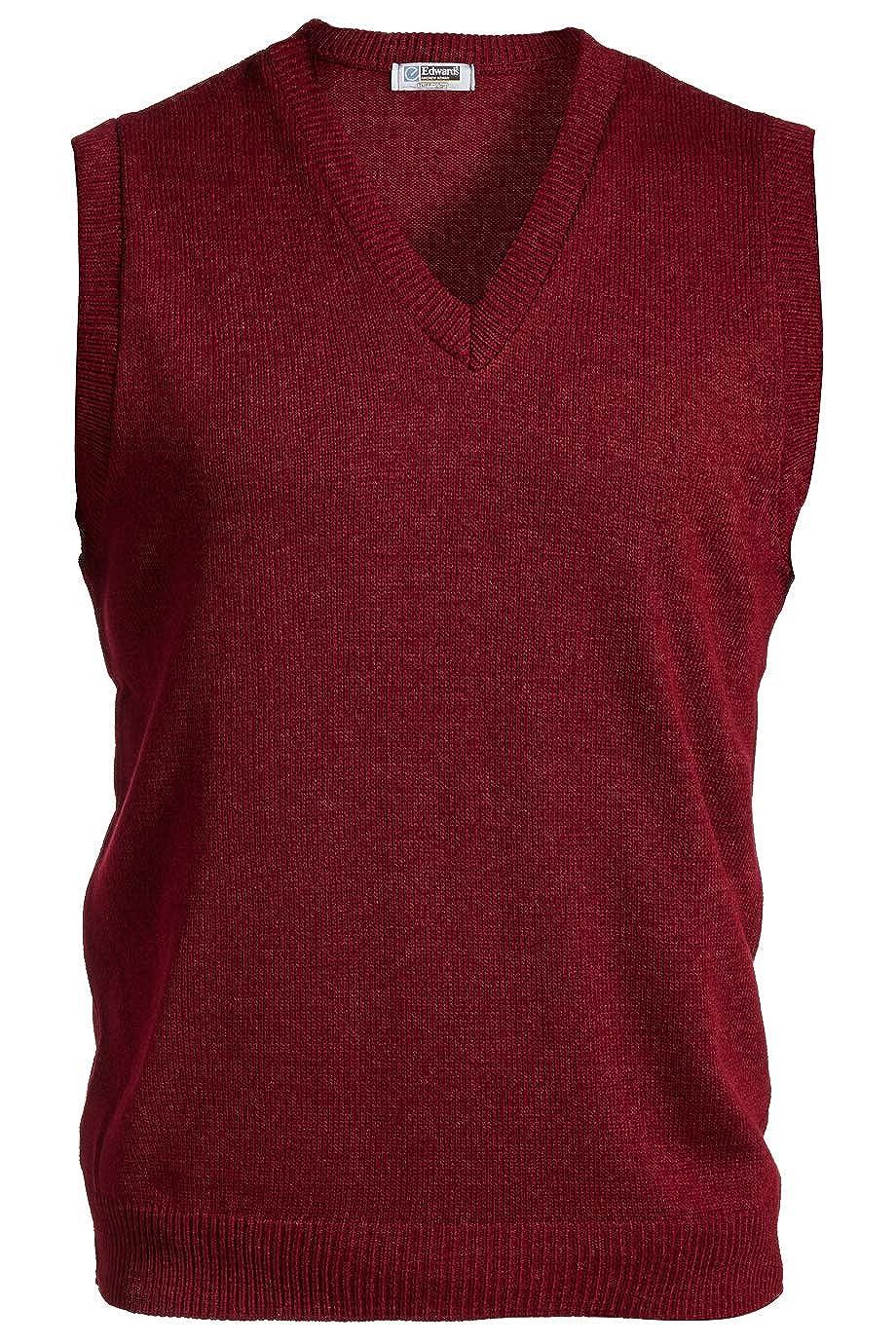 Edwards V-Neck Acrylic Sweater Vest 561