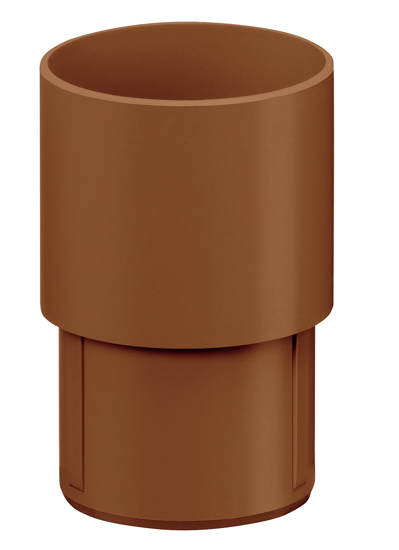 Dachrinne Grau Kunststoff INEFA Übergangsstück DN 100//100 Regenrinne