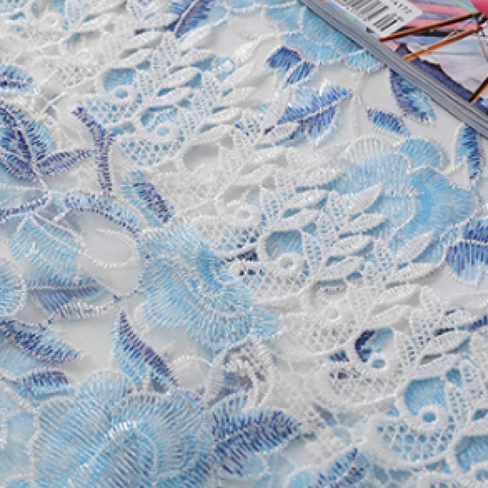 MMHJS Chinois Porcelaine Bleue Et Blanche Ajour/ée Dentelle Nappe Brod/ée Table Basse Four /À Micro-Ondes R/éfrig/érateur Cache Anti-Poussi/ère A 60X60cm