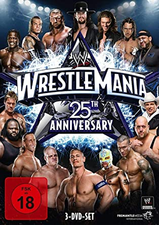 WWE - Wrestlemania XXV 3 Discs, 25th Anniversary Alemania DVD: Amazon.es: Wwe: Cine y Series TV