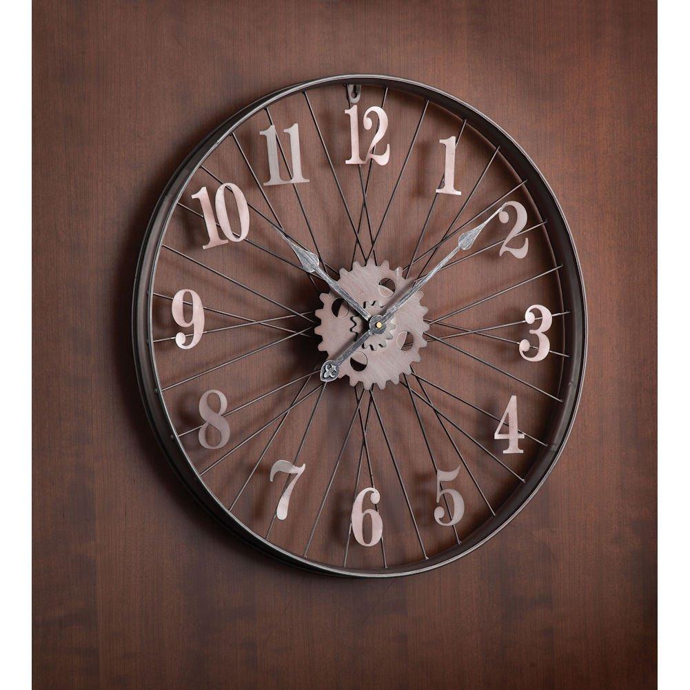 Shop amazon wall clocks bike amipublicfo Image collections