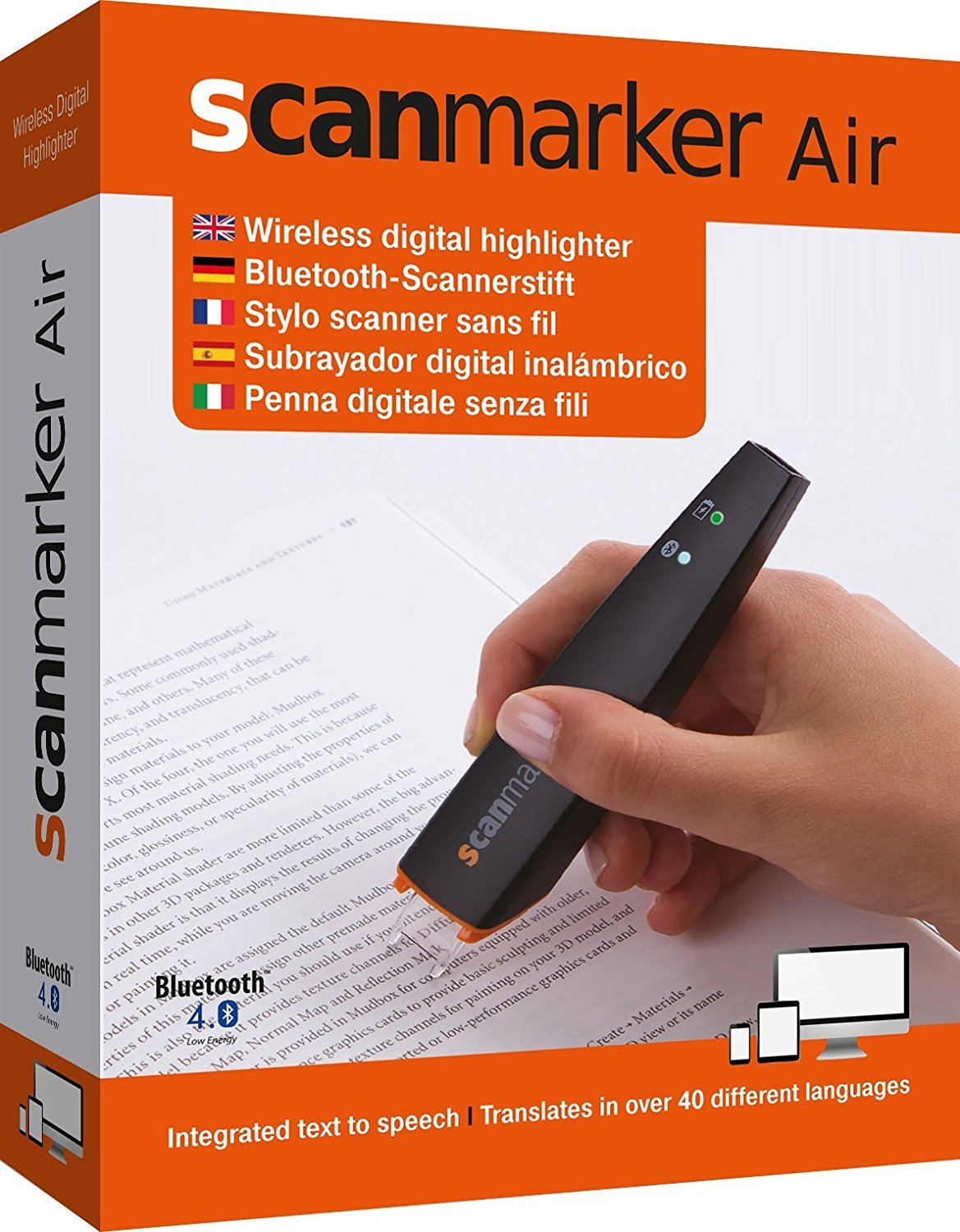 ScanMarker Air - OCR Pen Scanner, Reader and Translator 7.98304E+11