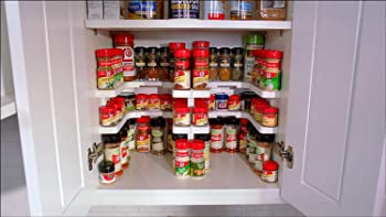 Spicy Shelf Patented Spice Rack