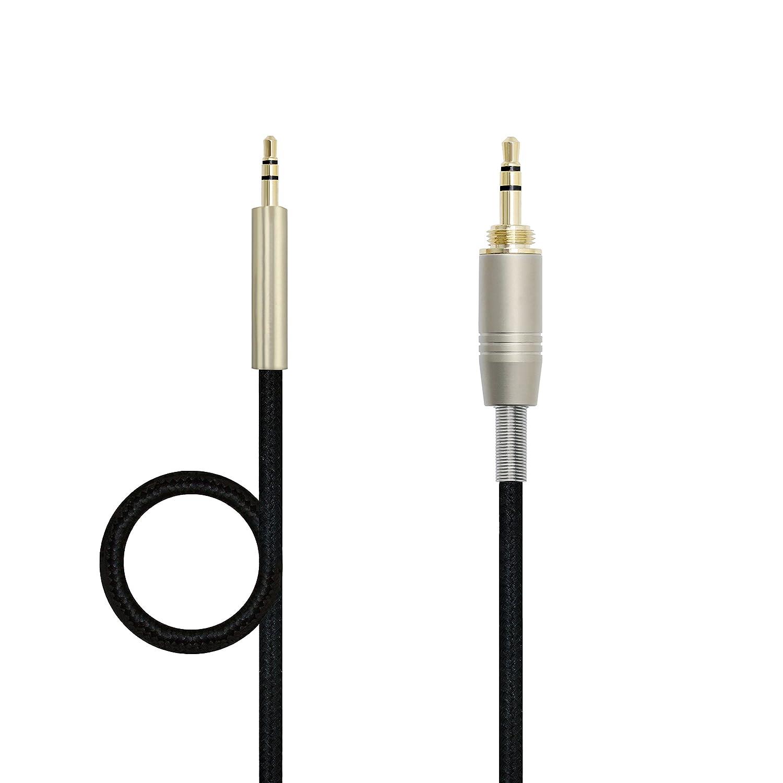 micity Cable alargador de audio actualizaci/ón Cable de repuesto para SENNHEISER Urbanite de diadema Sennheiser Urbanite XL Wireless/ /Auriculares de diadema