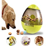 IQ Treat Ball Dog Toy - Interactive Food Dispenser Ball Toy for Small Medium Dogs Boredom Puzzle Toys Mental Stimulation Pets Treat-Dispensing Ball- Easy to Clean