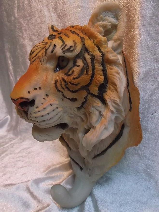 BG Tierfiguren Tiger colgadores 20 cm Perchero para ...