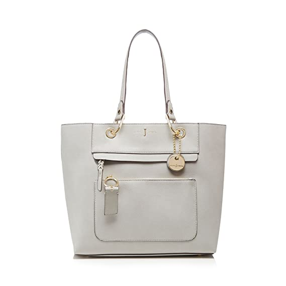 J By Jasper Conran Womens Grey Front Zip Detail Tote Bag  J by Jasper Conran   Amazon.co.uk  Clothing 56fe04161cb59