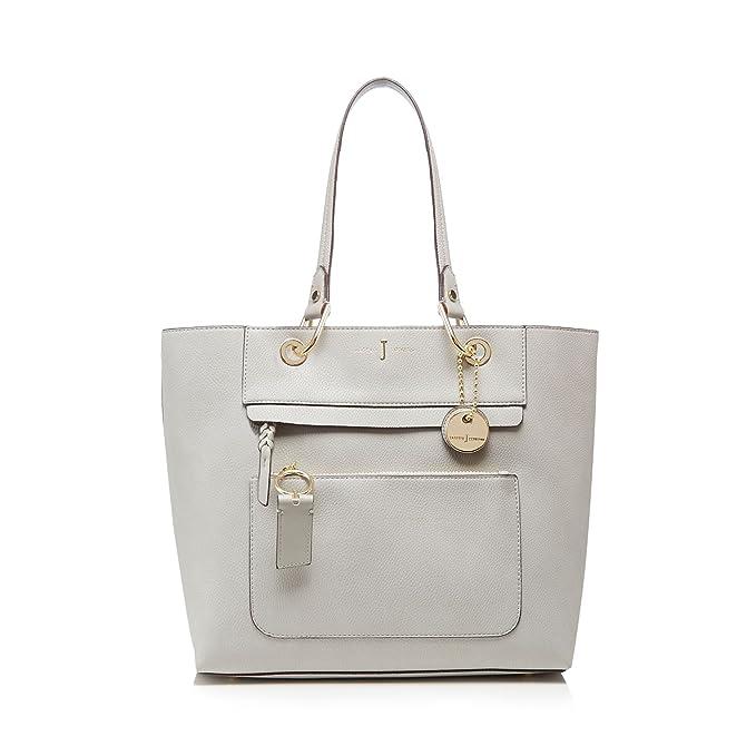 3cdb31b89986 J By Jasper Conran Womens Grey Front Zip Detail Tote Bag  J by Jasper Conran   Amazon.co.uk  Clothing