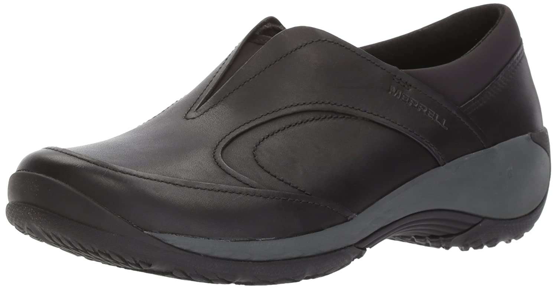 Merrell Women's Encore Q2 Moc LTR Fashion Sneaker B01N4EWU4L 5.5 B(M) US|Black