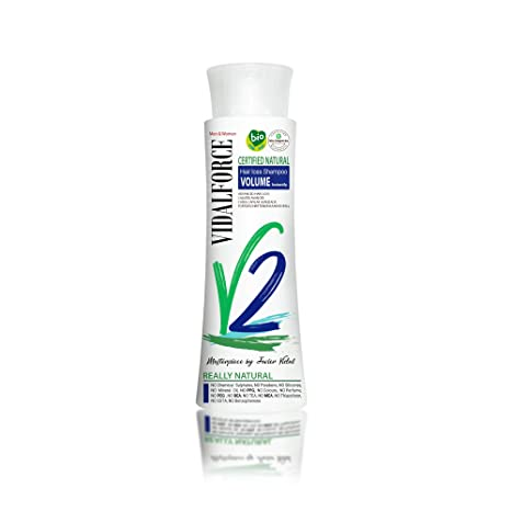 Vidalforce Champu V2 Anti Caida Volumen Instantaneo - 250 ml.