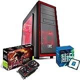 PC DESKTOP PROCESSORE INTEL i5 7400 3.50GHz • GTX1050Ti 4GB ASUS / MSI • 8GB DDR4 • WINDOWS 10 PRO • 1TB HDD • PC ASSEMBLATO PC FISSO DA GAMING COMPLETO HD PRONTO USB 3.0 HDMI INTEL DESKTOP