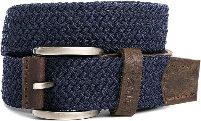 Amazon.com: VELEZ Cinturones de Cuero Genuino Para Hombre ...