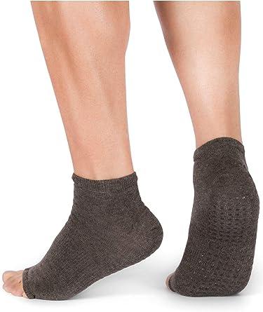 Yoga Socks Flip Flop Socks Work out Socks Barre socks, Toe Less Socks Dance Socks