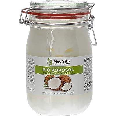 Meavita Aceite De Coco Orgánico, Virgen Y Prensado En Frío 1000 ml