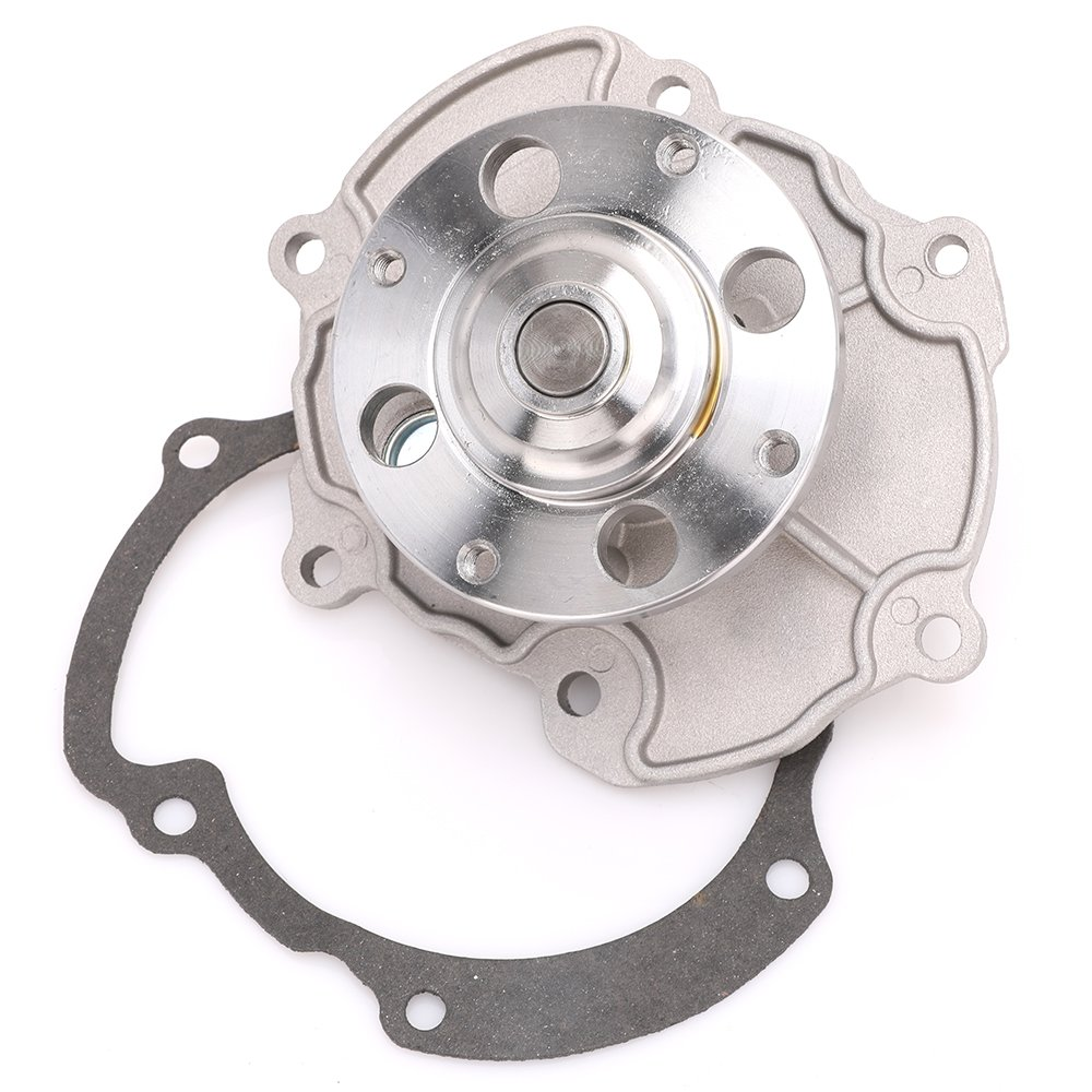 12657499 Engine Coolant Water Pump with Gasket for Chevy Cadillac Buick GMC Replace # 12566029 12645176 MNJWS